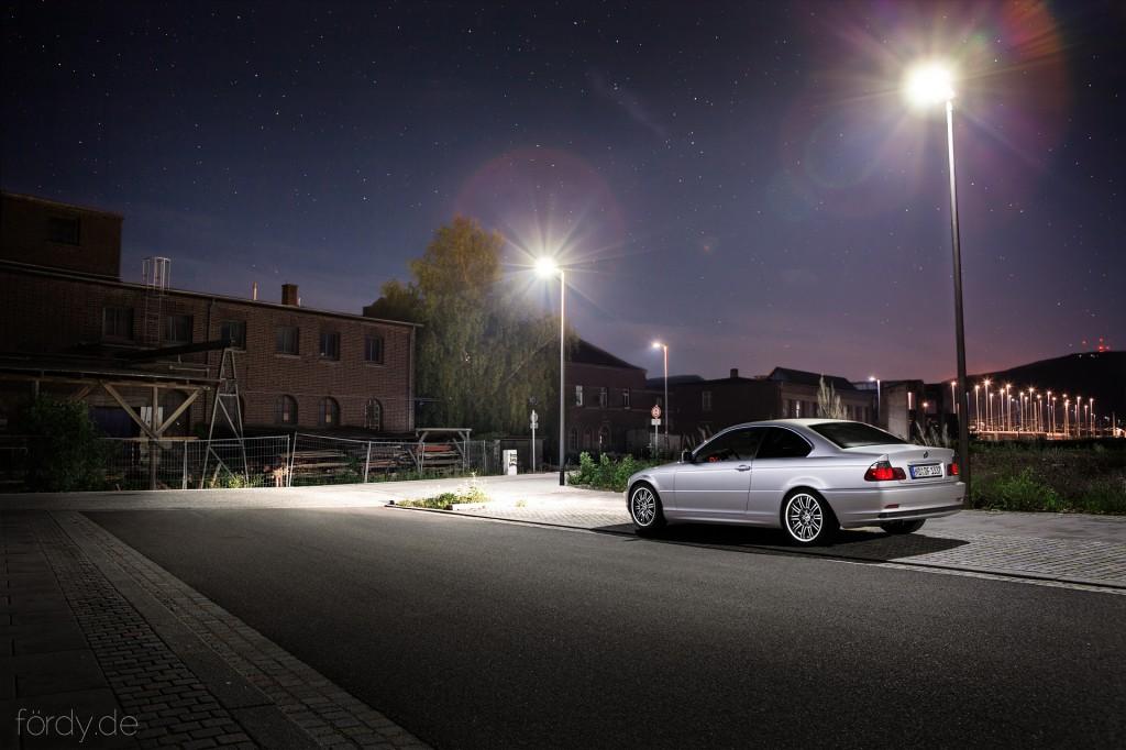 BMW E46 Coupe Nightshot