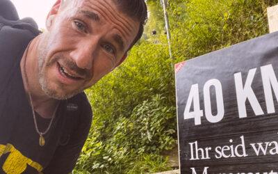 Wieso macht man das? (Little) Mammutmarsch 2021 in Heidelberg (42km)